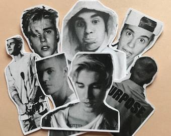 Justin Bieber Cute Sticker Packs (24ct)