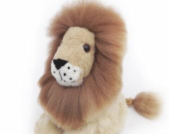 Lion Stuffed Animal Etsy