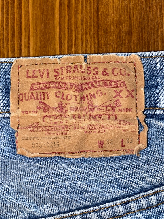 LEVIS, Vintage Made in USA Levi's 505s! - image 6