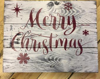 more colors large christmas pallet sign - Christmas Pallet Signs