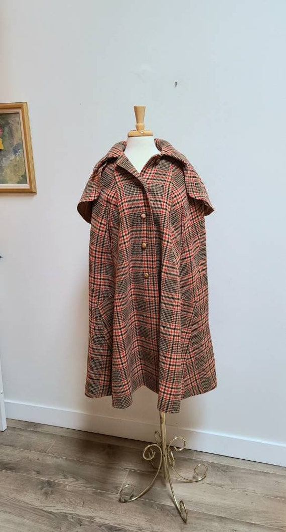 Wool cape english cape