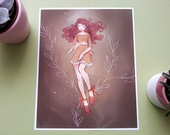 Hazel - Art Print - Illustration