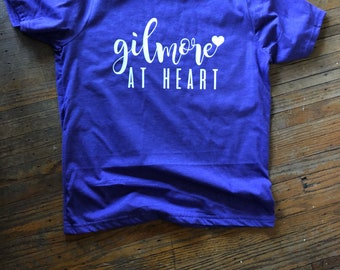 Gilmore at heart | Gilmore Girls shirt