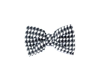 The Houndstooth Dog Bow Tie | Dog Bow | Bow Tie | Collar Bow | Puppy Bow Tie | Pet Bows