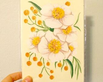 Peony Bouquet - Original Painting