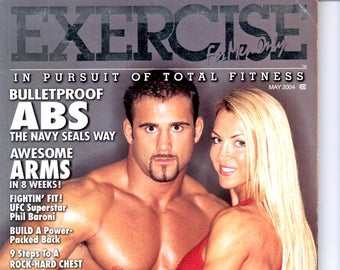 Exercise For Men Only  magazine-  may 2004  - vol 20 -issue #3/ health and fitness