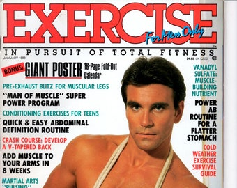Exercise For Men Only  magazine- january 1993 - vol 9 -issue #1/ health and fitness