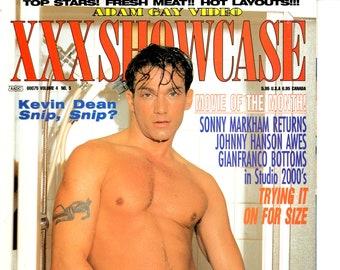 Adam Gay Video Showcase Magazine November 1996