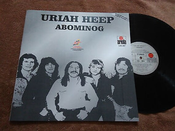 Uriah Heep Abominog That S The Way That It Is Mexico Etsy