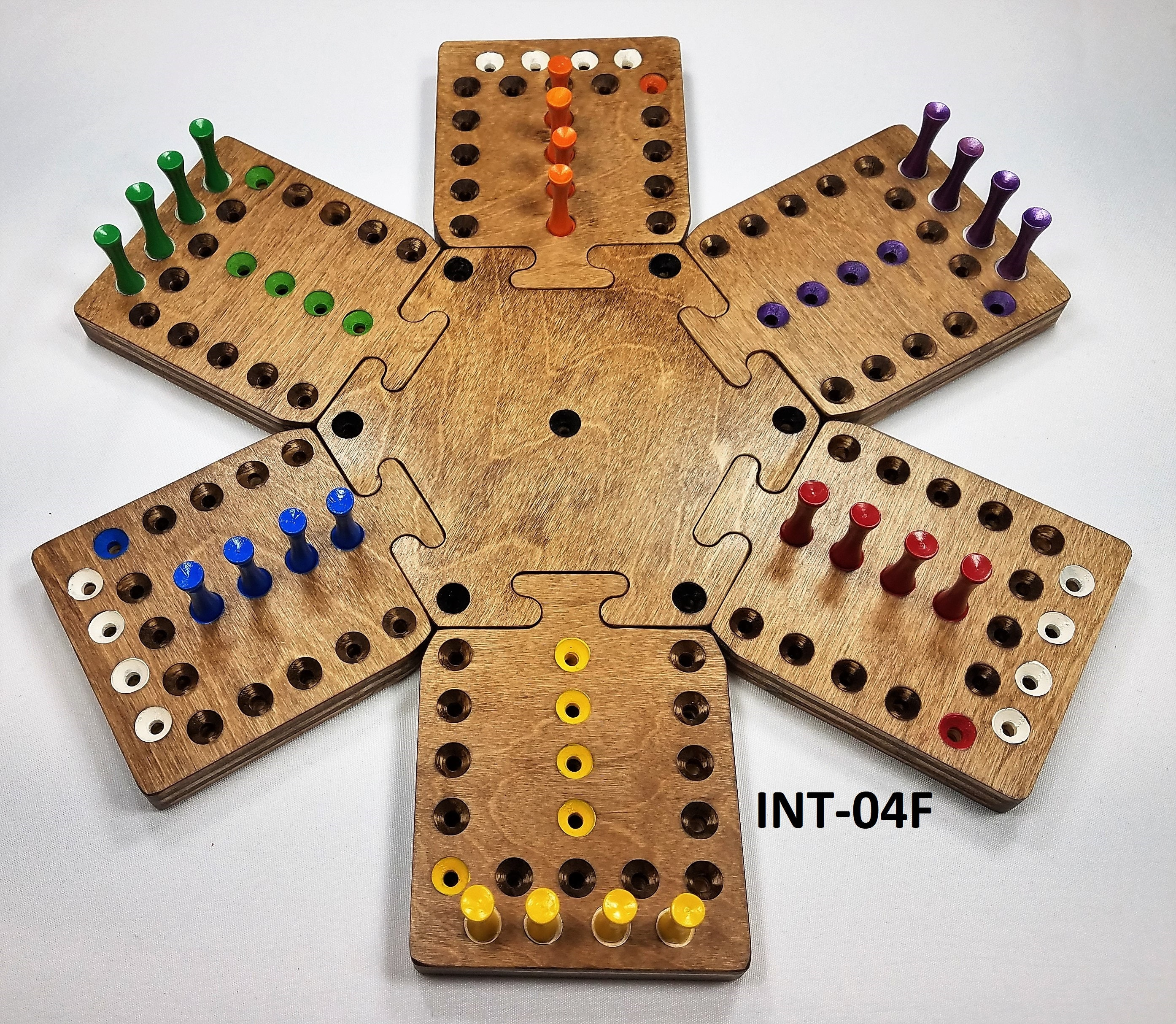 6 Player Modular Fast Track Board Game Etsy