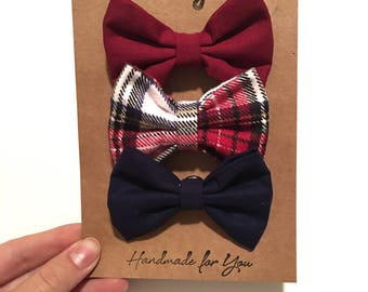 Tis The Season Baby Boy Interchangeable Bowties