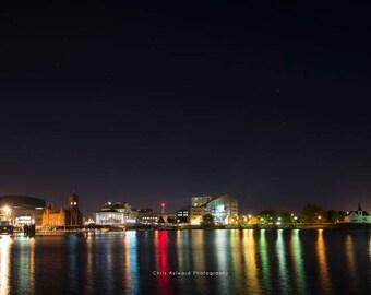 Cardiff Bay at Night