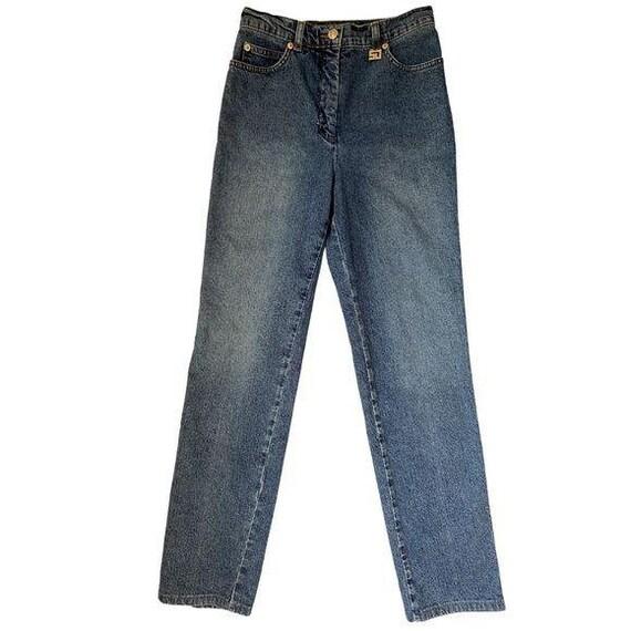 St John Sport By Marie Gray Denim Jeans High Waist
