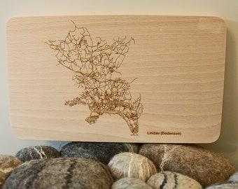"""Breakfast board engraving """"Lindau"""""""