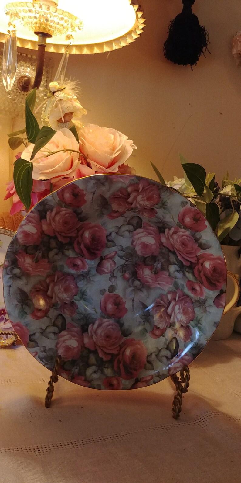Vintage Formalities Rose Bowl