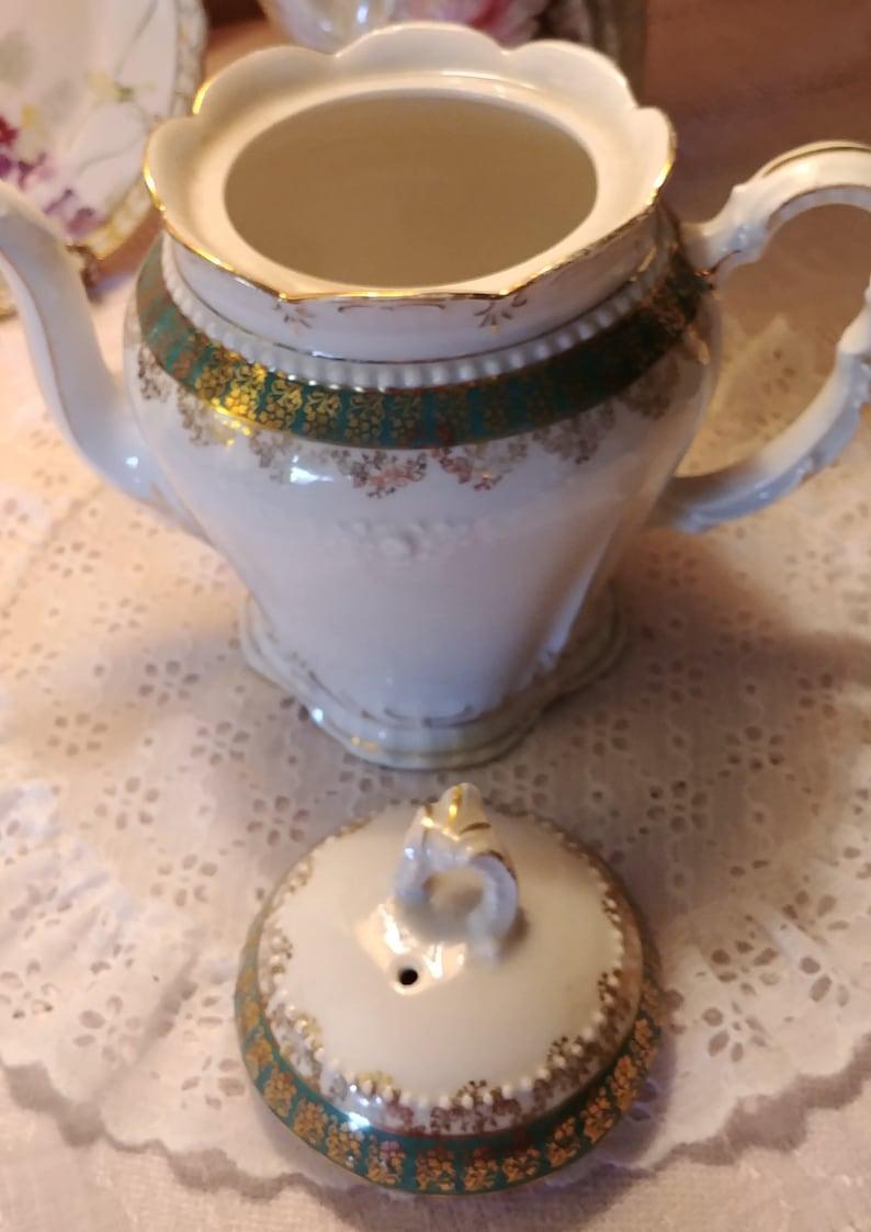 Rare KPM coffeeTeapot