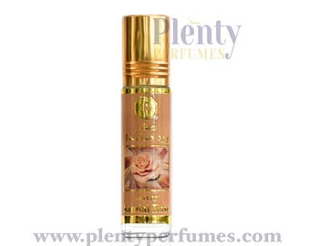 Sandal Rose By Surrati 8ml Roses Warm Sandalwood Arabian Perfume Oil Attar Alcohol Free