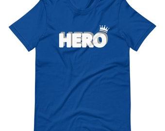 Blue & White HERO Tee