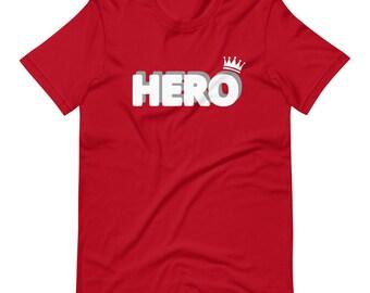 Red & White HERO Tee