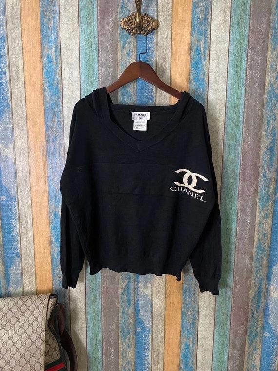 Vintage Chanel  hoodies light sweater 1991