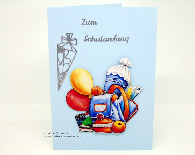 Congratulations card # school introduction # 3-D