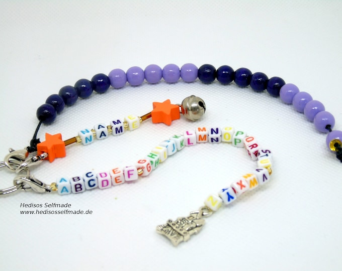 Letters chain # arithmetic chain to # back to school # purple