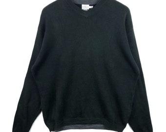 c9544d13dc0 Vintage Calvin Klein Sweatshirt black colour Big Logo spell out Embroidery  Sweat Medium Size Jumper Pullover Jacket Sweater Shirt Vintage 90