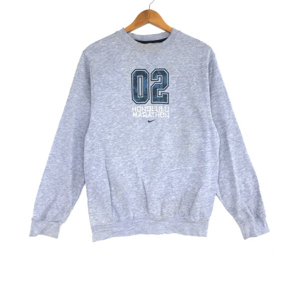 Nike sweat gros Logo broderie Sweat taille moyenne pull pull veste pull chemise Vintage années 90