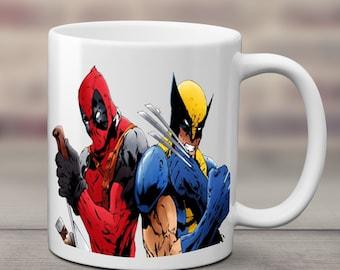 Deadpool and Wolverine Mug