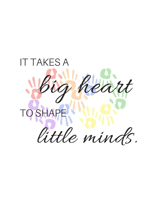 photograph relating to It Takes a Big Heart to Shape Little Minds Printable identify It can take a substantial centre towards condition small minds, neurodiversity, autism, printable estimate, electronic down load