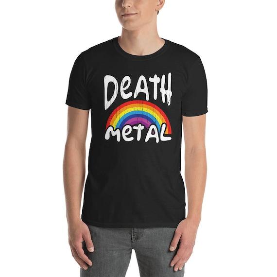 Heavy Metal Plakat Doom Metal Speed Metal Naklejka Heavy Metal Death Metal Rainbow Metalowa Plakietka śmierci Heavy Metal Baby Metalhead