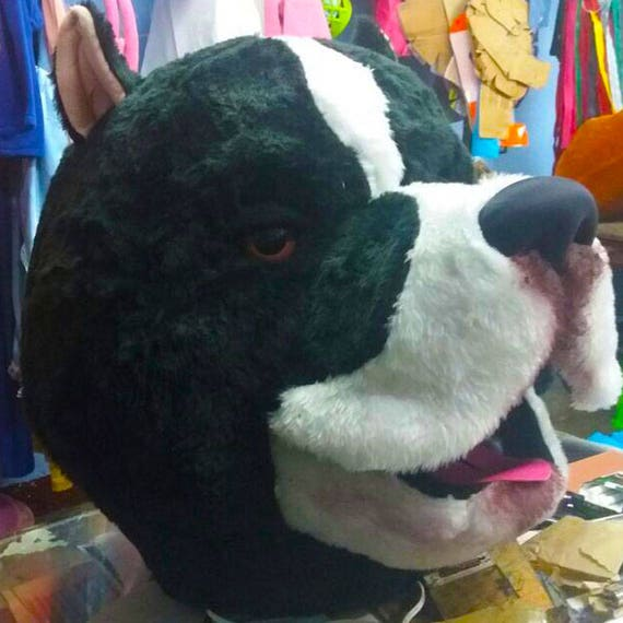 Pitbull Mascot Costume Adult Animal Costume For Sale Etsy