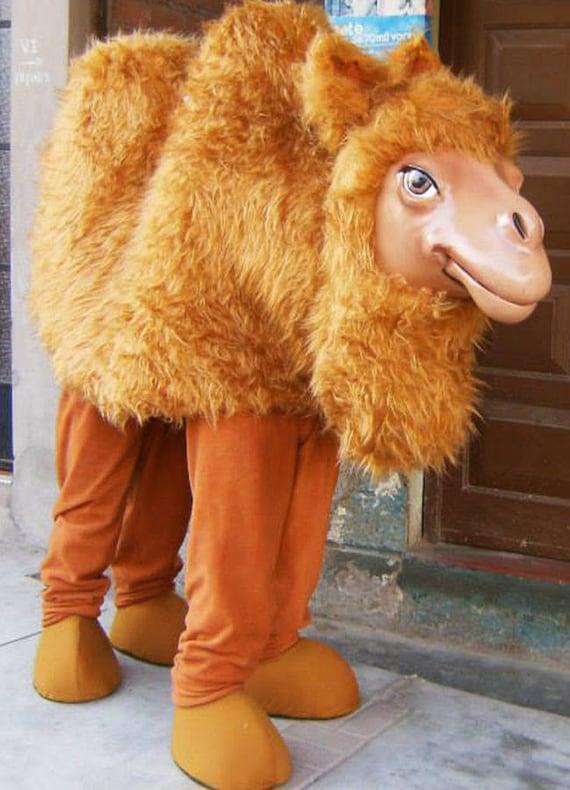 Camello mascota traje traje camello adulto en venta  f2b56314b8b