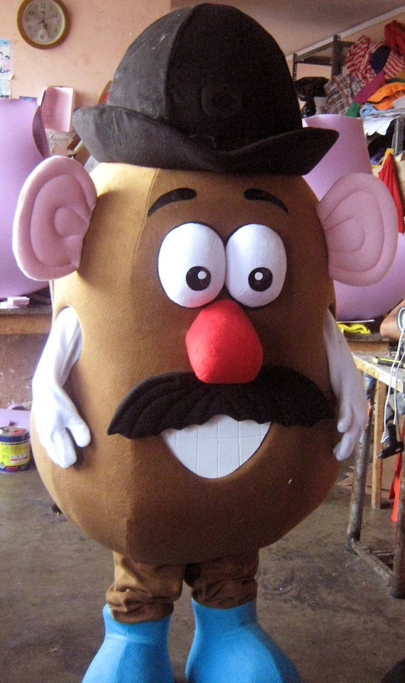 Mr Potato Head Mascot Costume Adult Mr Potato Head Costume For Sale