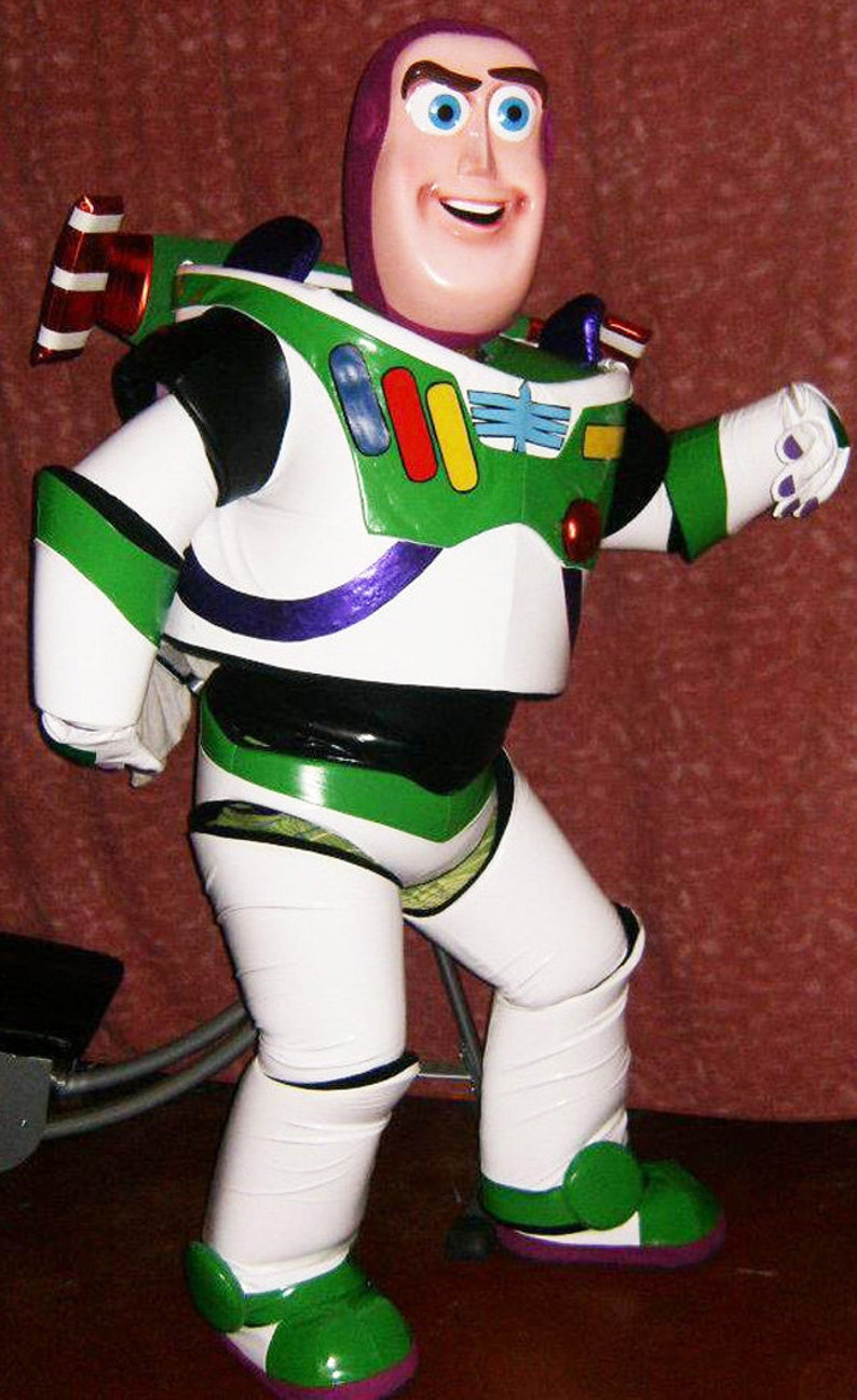 Buzz Lightyear Mascot Costume Adult Cartoon Costume For Sale