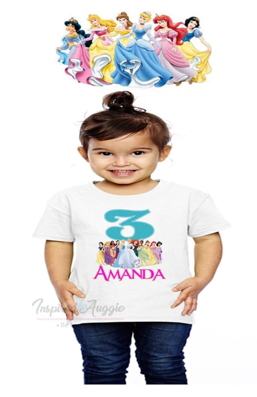 Personalized Disney Princess T Shirt
