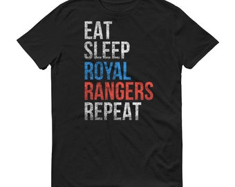 Eat Sleep Royal Rangers Repeat T Shirt Men's