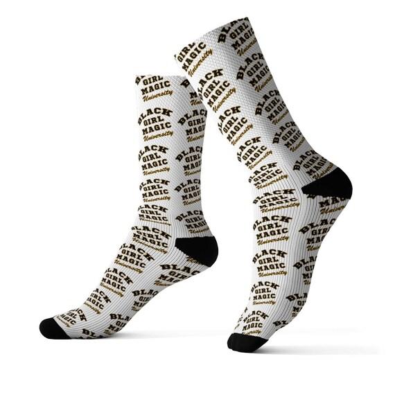 Black Girl Magic Socks
