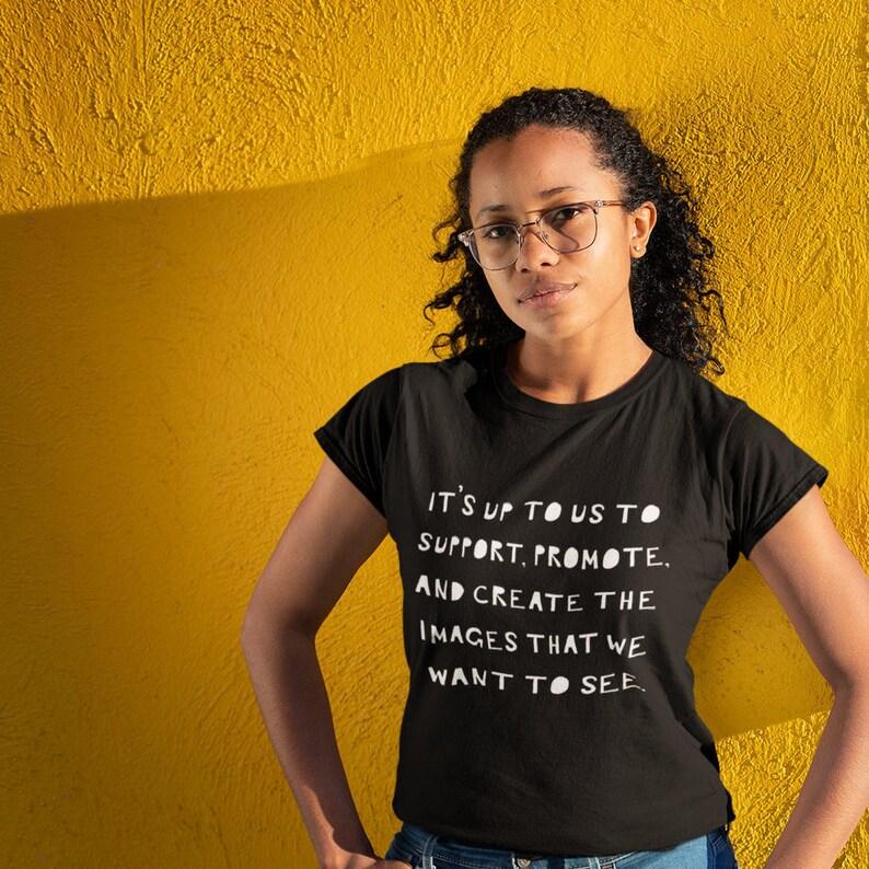 06195c310 Issa Rae Inspired Shirt Black Owned   Etsy