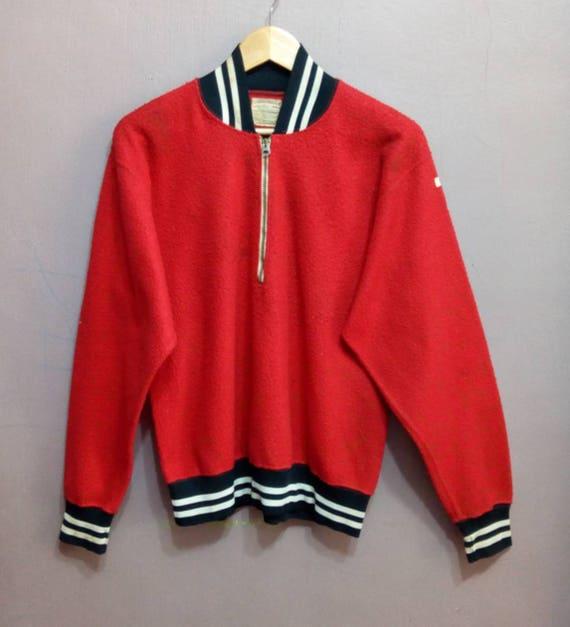 Vintage 50s Champions  Sweatshirt Half Zipper ADID