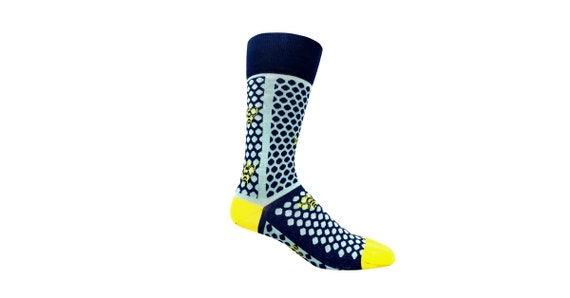 Mens Crazy socks designname Socks Athletic Dress Crew Socks for Boot