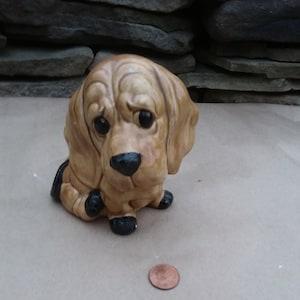 Vintage Cocker Spaniel Dog Coin Bank by Creative Mfg 1977 USA
