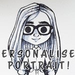 Personalised Portrait | Chibi Portrait Commissions | A6 - A5 Size | Anniversary | Family Gift | Kawaii | Cute | Customise Me Portrait