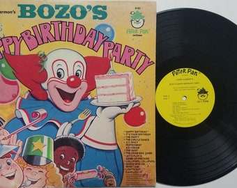 Vintage 1966 Bozo The Clown Puzzle Larry harmon pictures Repurpose Kids Toy Vintage game Cartoons Kids Show Jigsaw Puzzle Brain Game