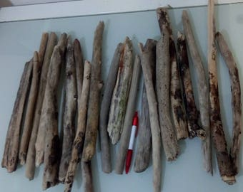 20 pieces of italian driftwood