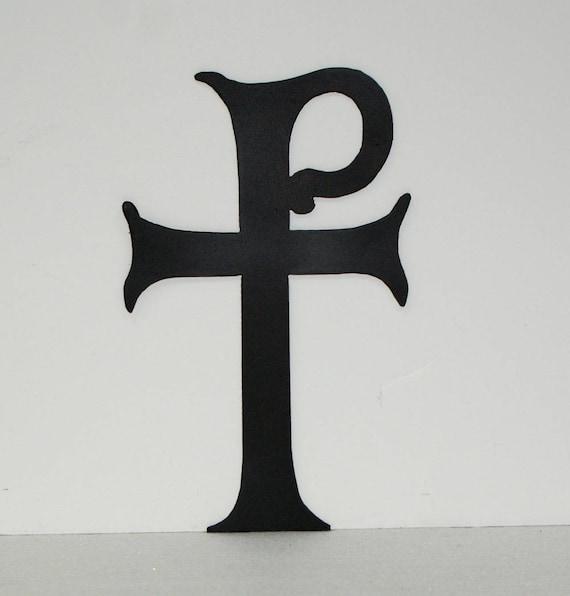 Tau Rho Cross 14 ga steel 10 x 6 | Etsy