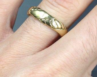 Adjustable brass ring