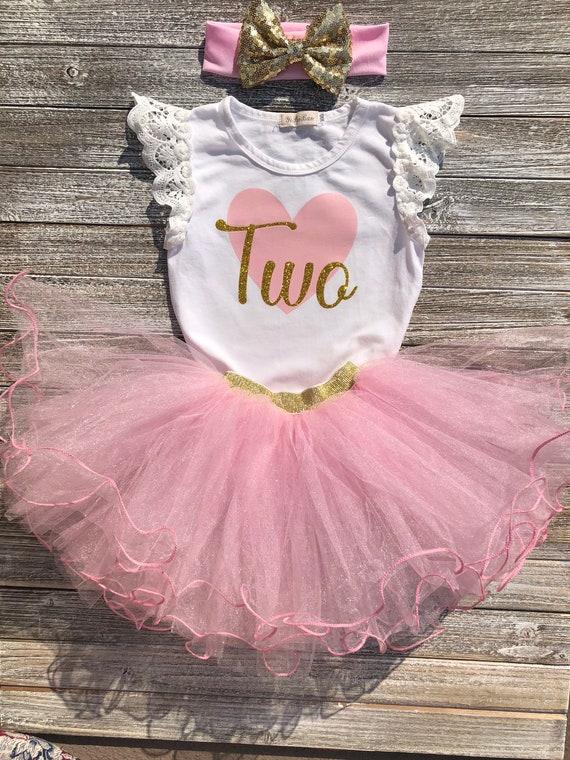 Baby Girl 1st Anniversaire Tenue 1,2,3,4,5,6,