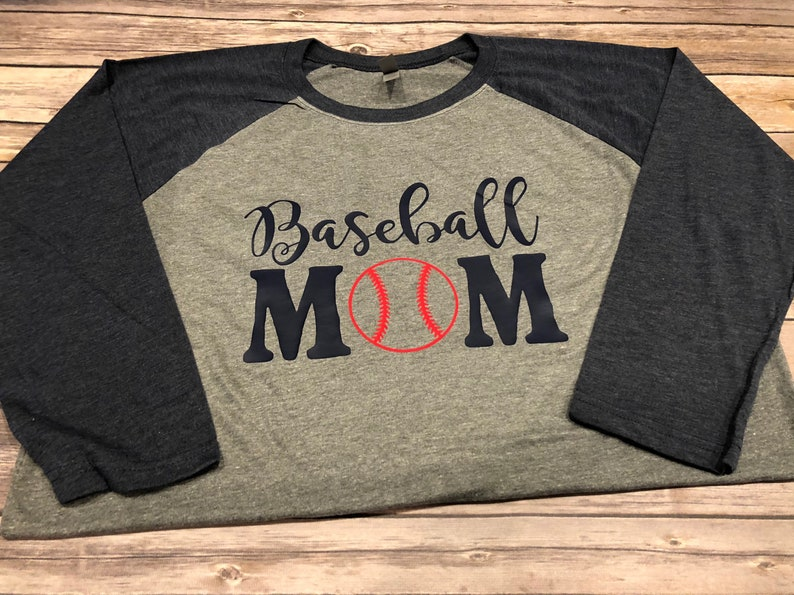 409553e4 Baseball Mom Shirt Softball Mom Shirt Baseball Shirt   Etsy