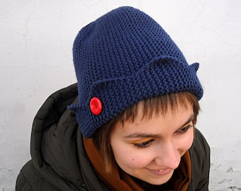 e8ff48c2452 Knitted whoopee cap